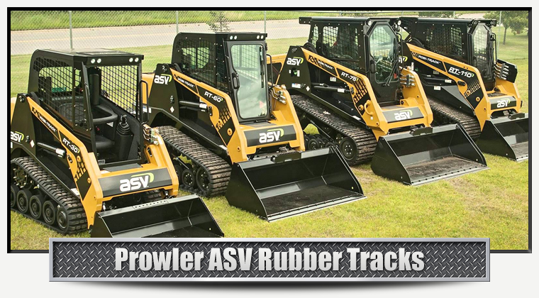 ASV Replacement Rubber Tracks