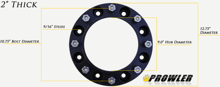 Bobcat 8 Lug Wheel Spacer