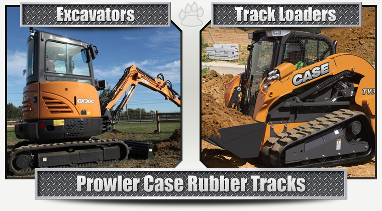 Case Replacement Rubber Tracks