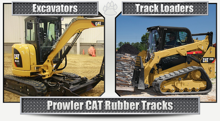 CAT Replacement Rubber Tracks