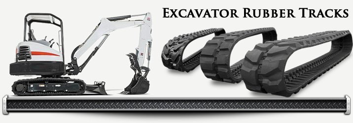 Replacement Excavator Rubber Tracks