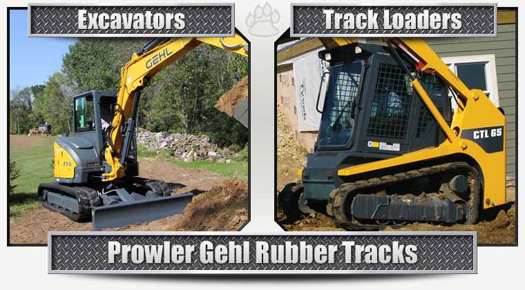 Gehl Replacement Rubber Tracks