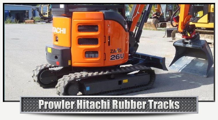 Hitachi Replacement Rubber Tracks