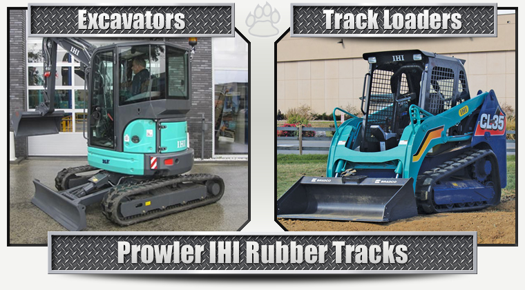 IHI Replacement Rubber Tracks