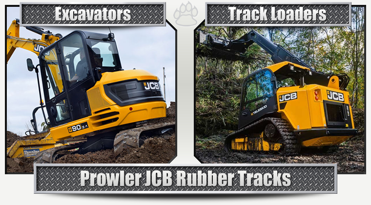 JCB Replacement Rubber Tracks
