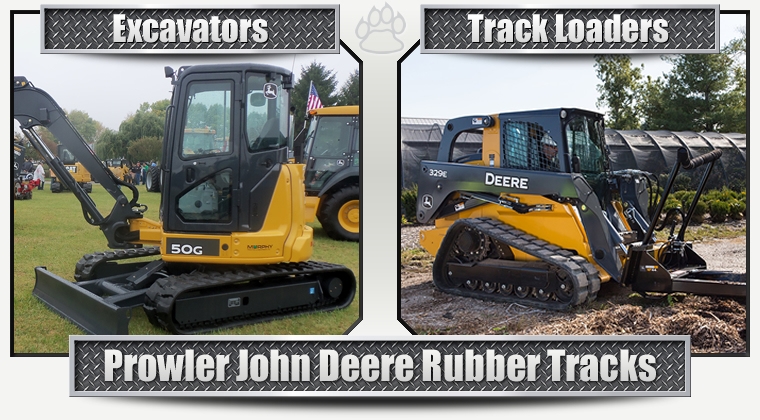 John Deere Replacement Rubber Tracks