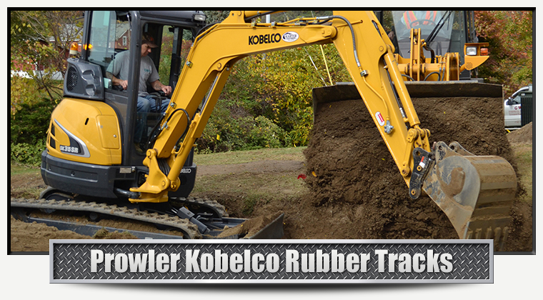 Kobelco Replacement Rubber Tracks