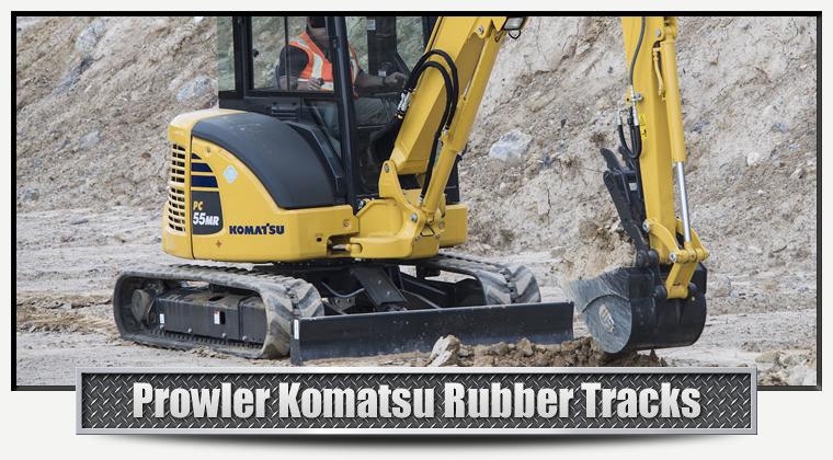 Komatsu Replacement Rubber Tracks