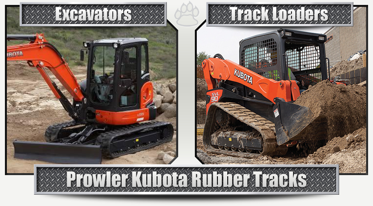 Kubota Replacement Rubber Tracks