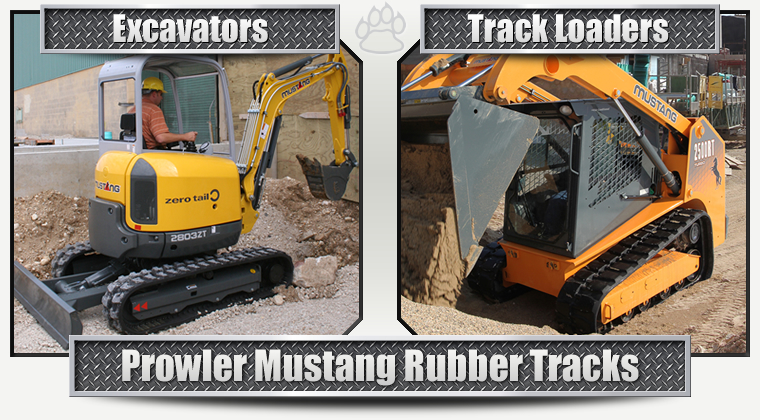 Mustang Replacement Rubber Tracks