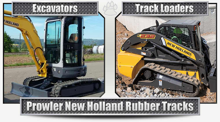 New Holland Replacement Rubber Tracks