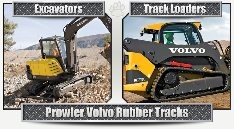 Volvo Replacement Rubber Tracks