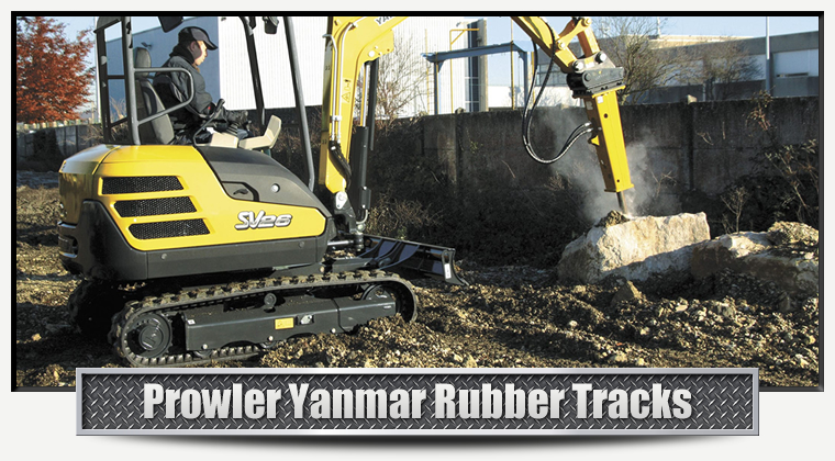 Yanmar Replacement Rubber Tracks