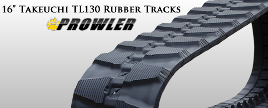 16 Inch Takeuchi TL130 Rubber Tracks