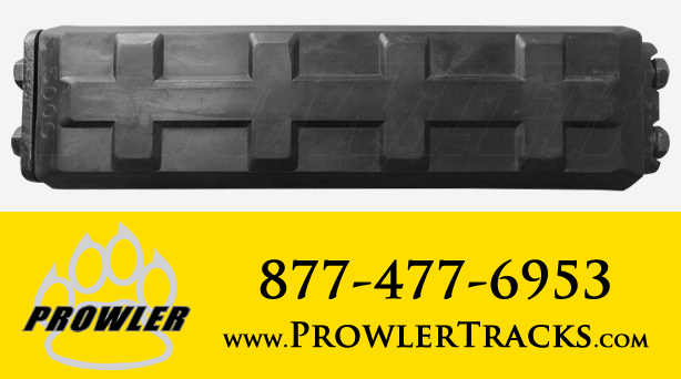 Prowler Excavator Rubber Track Pads Grouser Clip Bolt