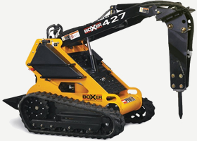 Mini Skid Steer Rubber Track Machine