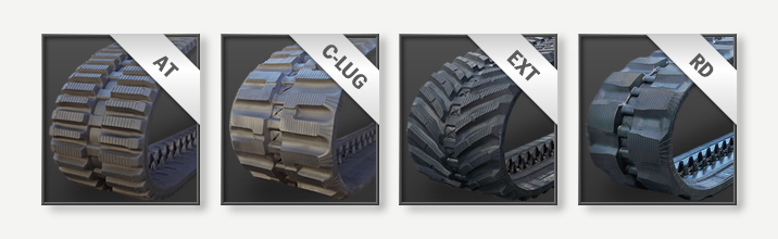 CTL Rubber Track Options