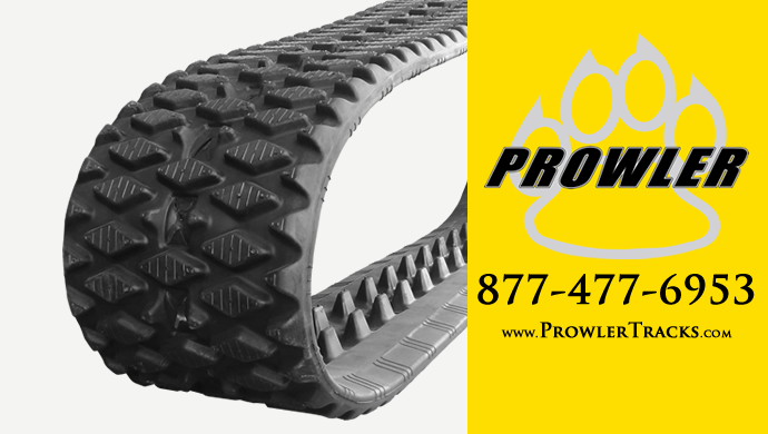 Prowler Mini Track Loader Rubber Tracks For Walk Behind