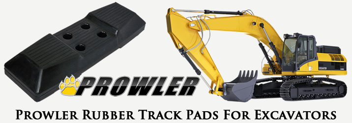 Excavator Rubber Track Pads