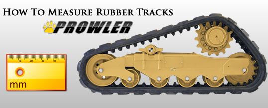 How To Properly Measure Your Rubber Track Size