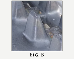 Rubber Track Wing Guide
