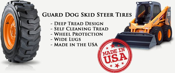 Skid Steer Tires USA Made