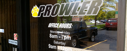 New Prowler Tracks Store Location and Extended Hours