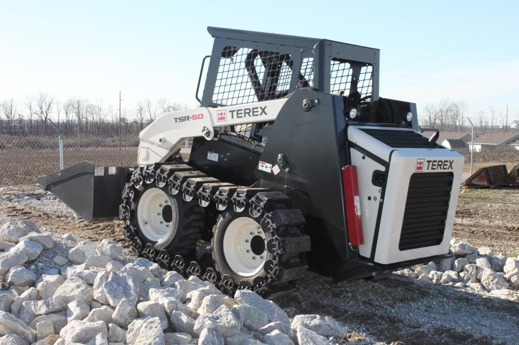 Prowler Skid Steer Over The Tire Tracks Steel And Rubber Pad Options