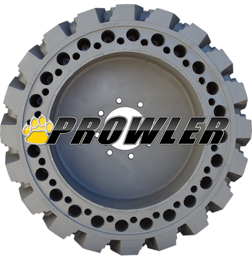 Proflex Solid Flat Proof Skid Steer Tires For Bobcat Loaders