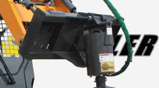 Closeup Of Prowler Auger Drive Motor