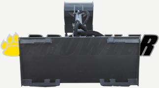 Backhoe Attachment Rear View