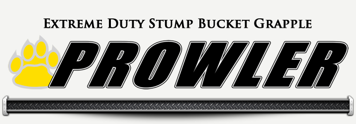 Extreme Duty Stump Bucket Grapples