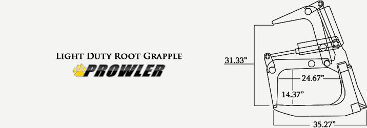 Light Duty Root Grapple Specs