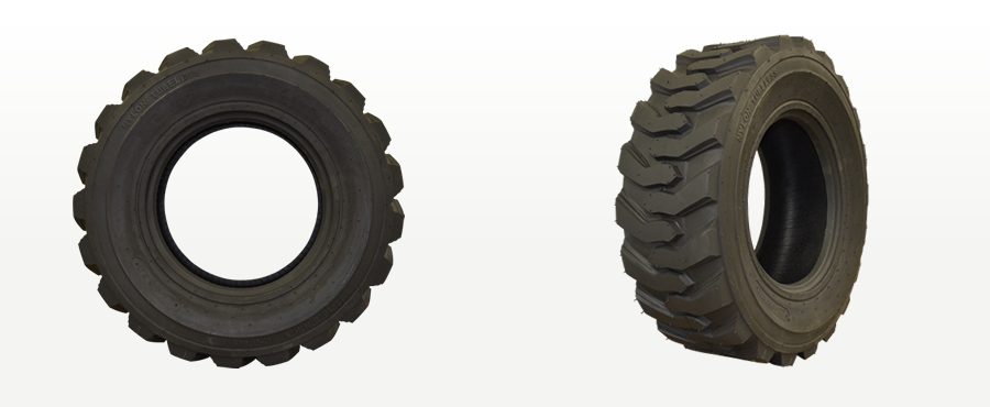 Tiber Skid Steer Tire Views