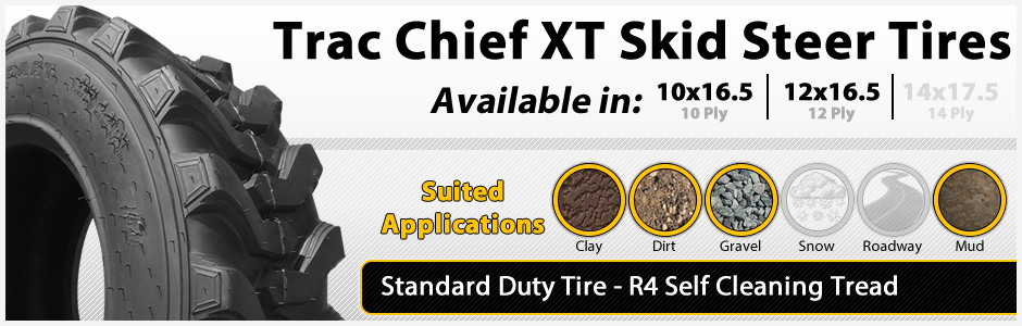 Trac Chief XT Standard Duty Tires