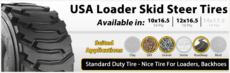 USA Loader Standard Duty Tires