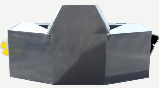 Cement Bucket Front View