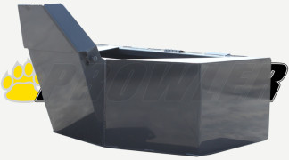 Cement Bucket Front Side View