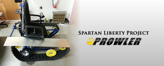 Spartan Liberty Tracked Wheelchair