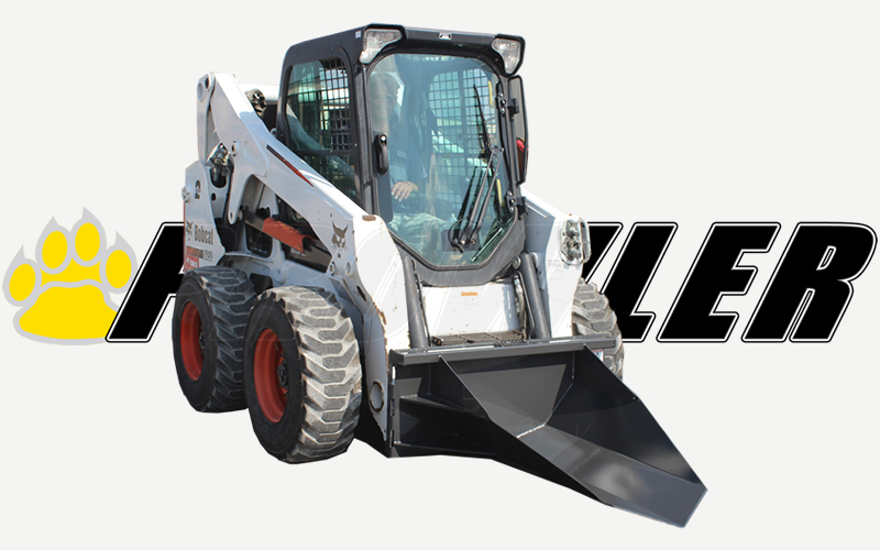 Heavy Duty Tree Spade Attachment for Skid Steer Loaders