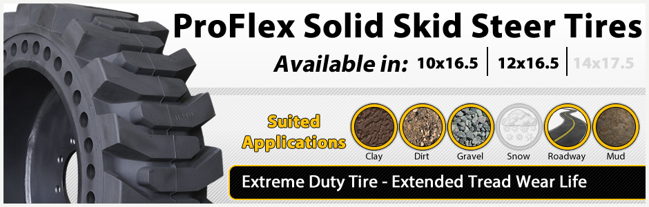 proflex severe duty solid tire