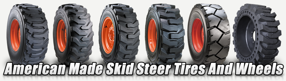 skid steer construction tires