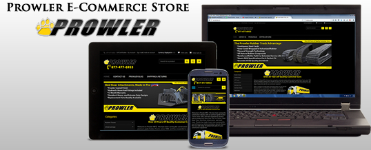 prowler e-commerce store