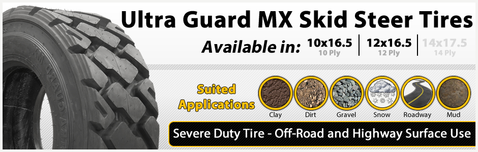 Ultra Guard MX Severe Duty Tires