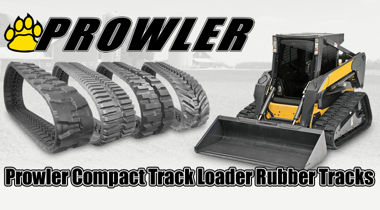 prowler compact track loader rubber tracks
