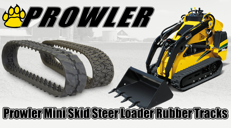 prowler mini skid steer rubber tracks