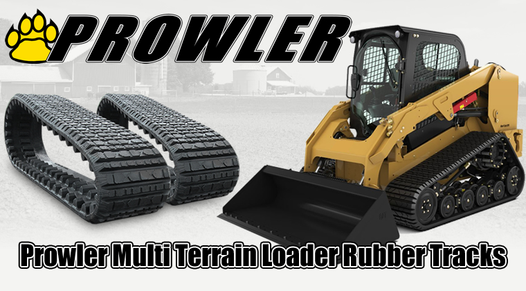 prowler multi terrain loader rubber tracks